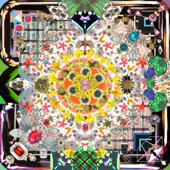 Jewels Garden Rug