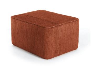 Mia Brick Ottoman