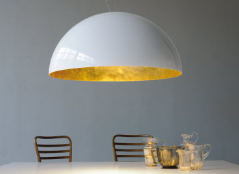 Sonora Suspension Light - Gold Interior