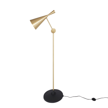 Beat Floor Lamp - Brass