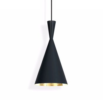 Beat Tall Suspension Light - Black