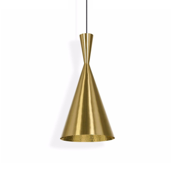 Beat Tall Suspension Light - Brushed Brass