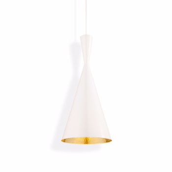 Beat Tall Suspension Light - White