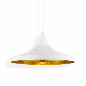 Beat Wide Suspension Light - White