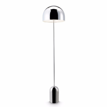 Bell Floor Lamp - Chrome