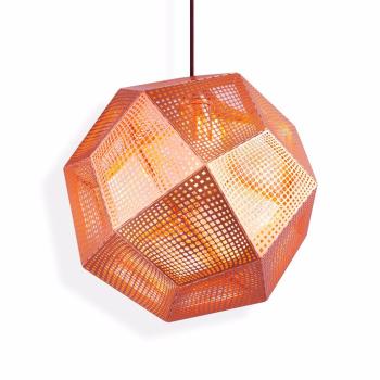 Etch Suspension Light - Copper