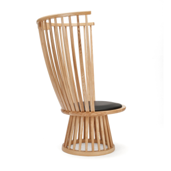 Fan Lounge Chair - Natural