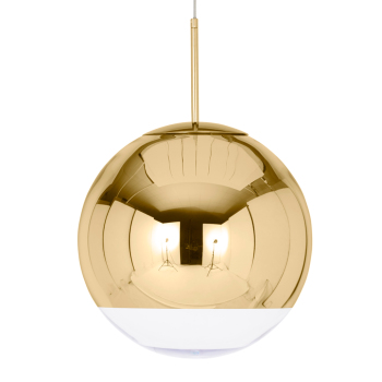 Mirror Ball Suspension Light - Gold