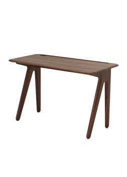 Slab Individual Desk Small - Fumed Oak