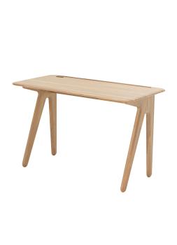 Slab Individual Desk Small - Natural Oak
