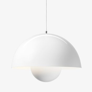 FlowerPot Suspension Light White - VP2
