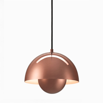 FlowerPot Suspension Light VP1 - Metallic
