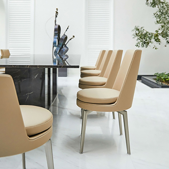 Feel Good Dining Chair - High Back Metal