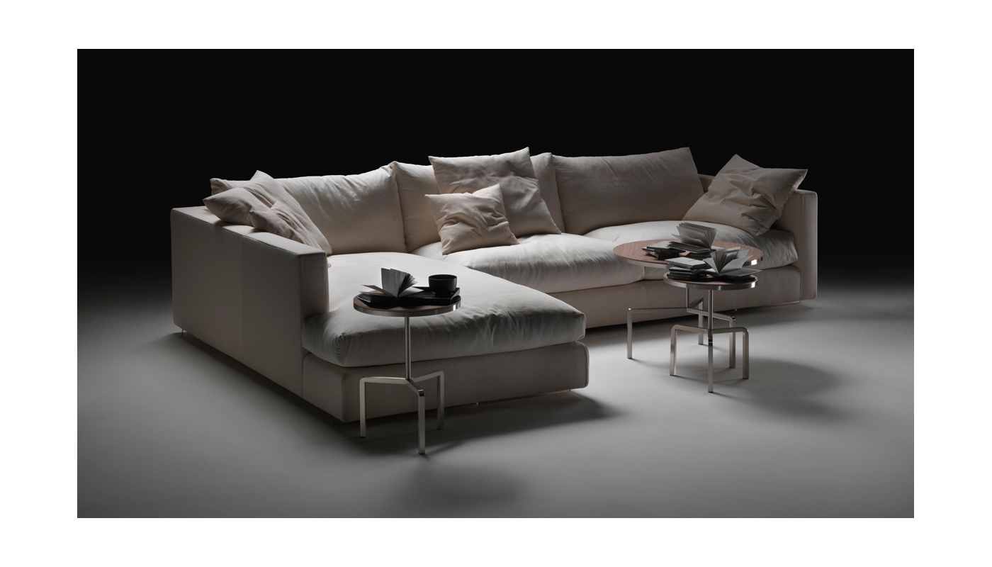 Fantastic Magnum Sectional Sofa By Flexform Switch Modern Onthecornerstone Fun Painted Chair Ideas Images Onthecornerstoneorg