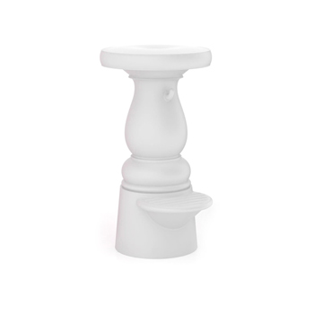 New Antiques Counter Stool - White - Quick Ship