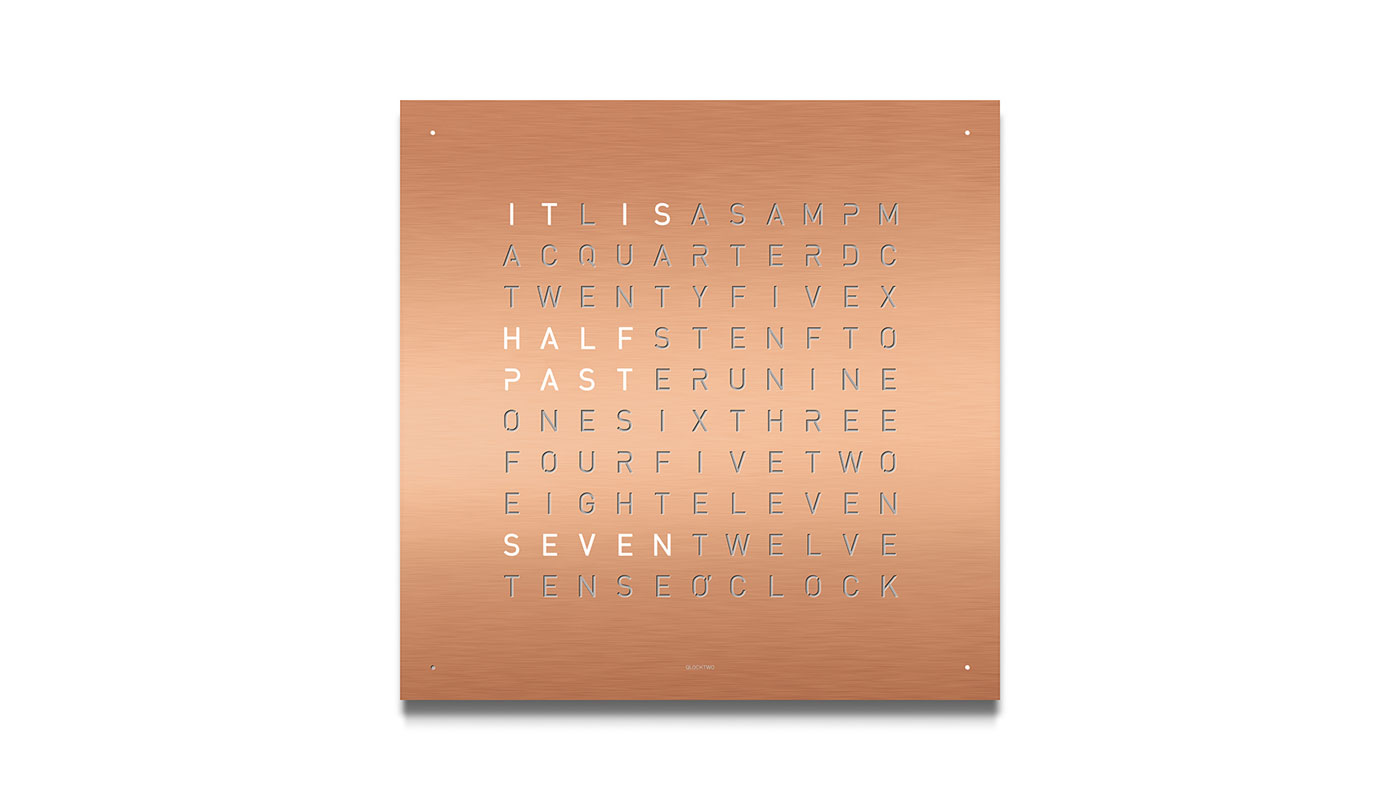 Classic Wall Clock - Copper
