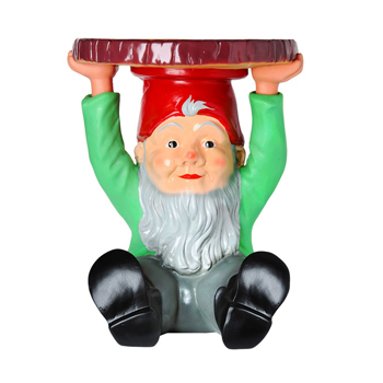 Attila Gnome Small Table - Quickship