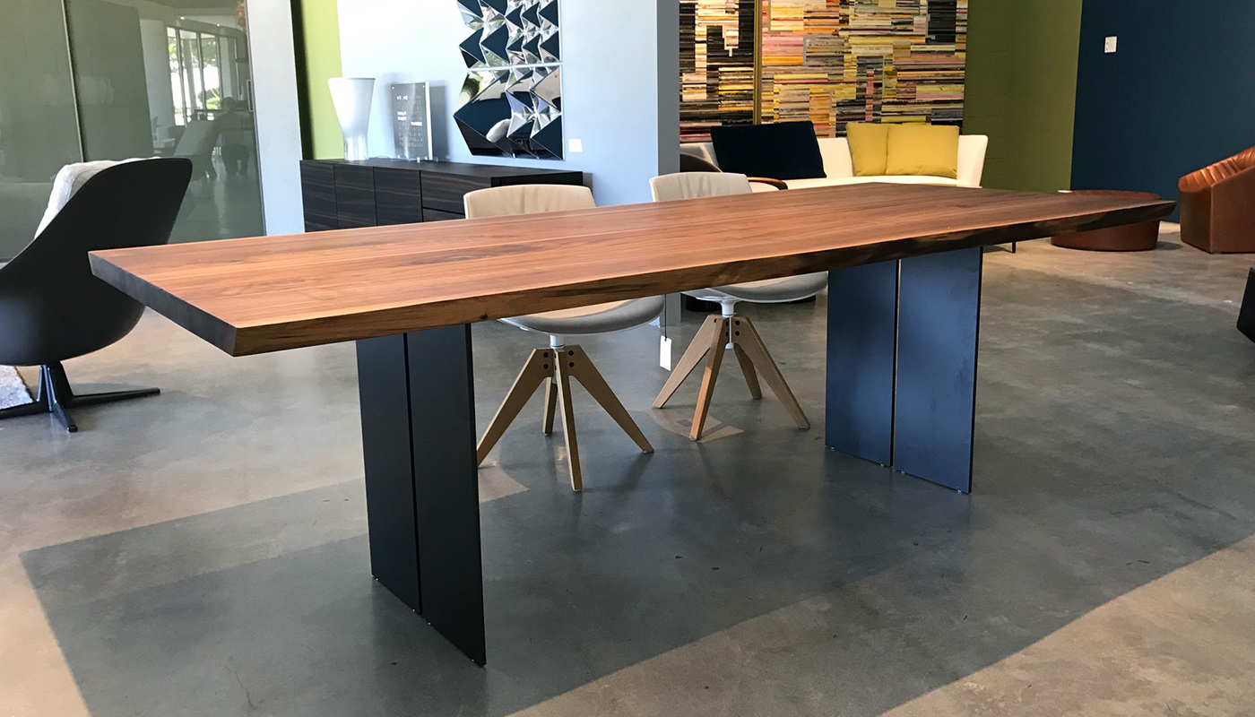 Natura Natural Sides Dining Table - In Our Showroom