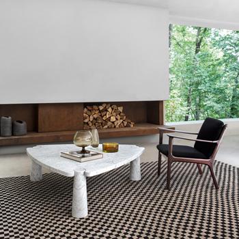 Eros Coffee Table - Triangular