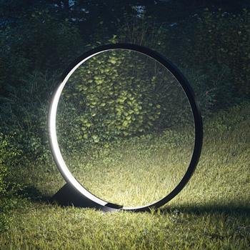 O Ground Outdoor Light