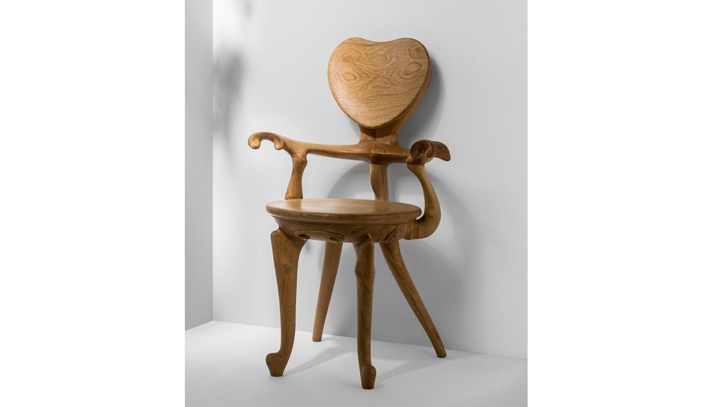Calvet Chair - With Arms