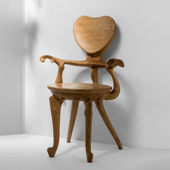 Calvet Chair - With Arms