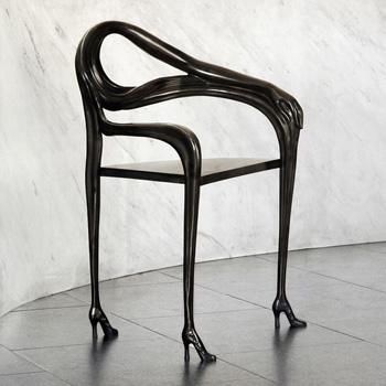Leda Dining Chair - Black Label