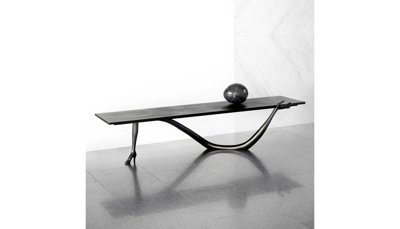 Leda Low Table - Black Label
