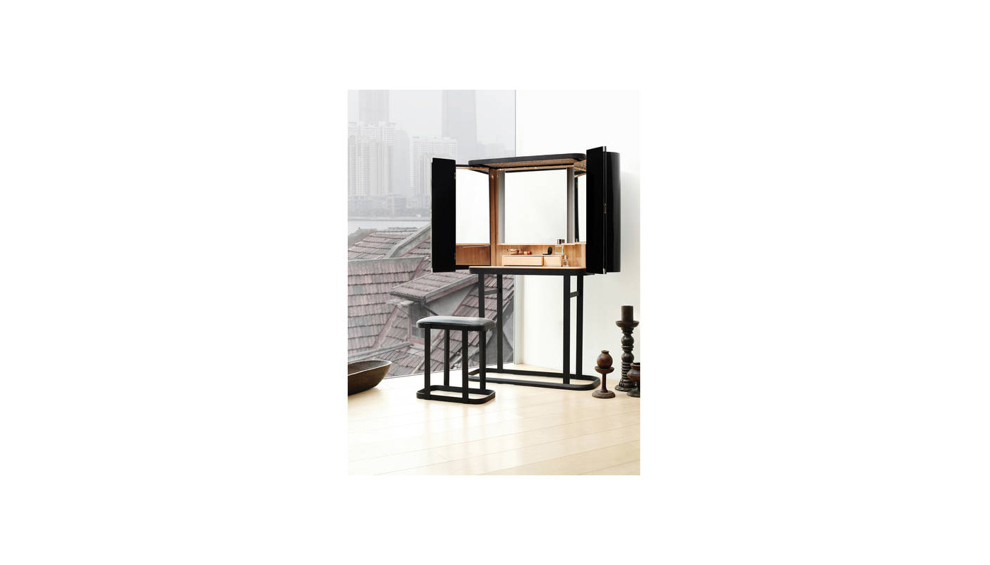 Narcissist Dressing Table and Stool