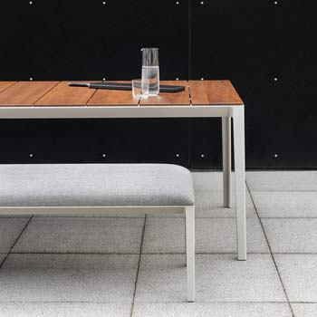 Able Dining Table - Outdoor