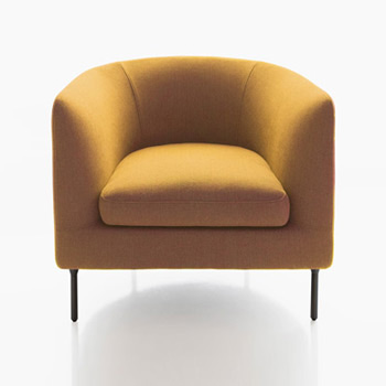 Delta Club Lounge Chair - In Our Showroom