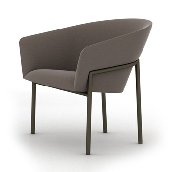 Metro Small Lounge Chair - In Our Showroom