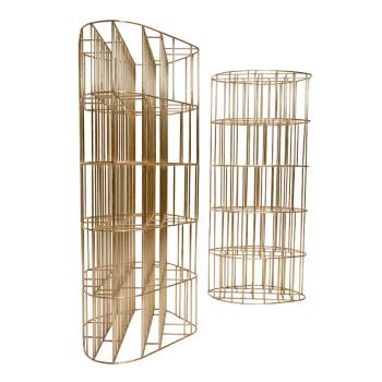 Golden Cage Bookshelf