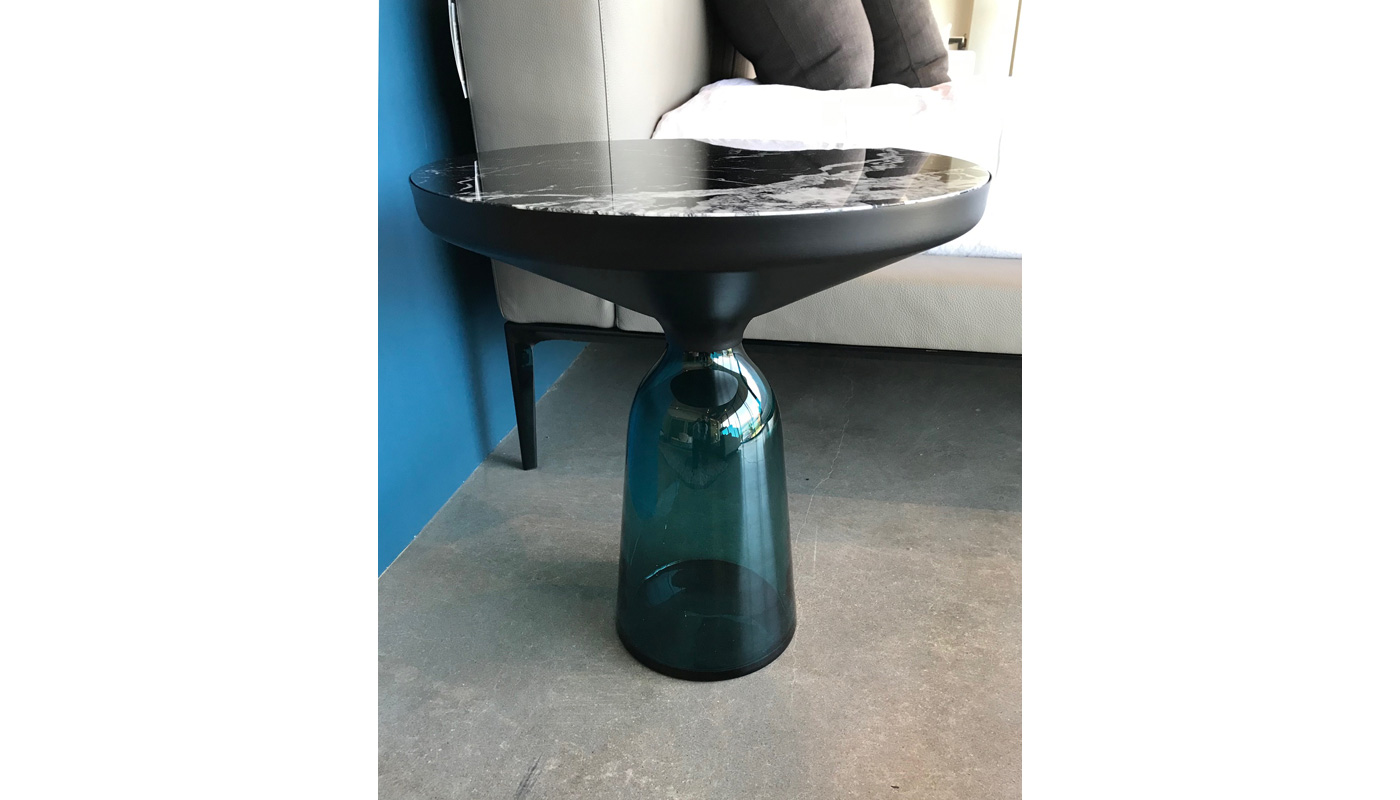 Bell Small Table - Marble Top - In Our Showroom
