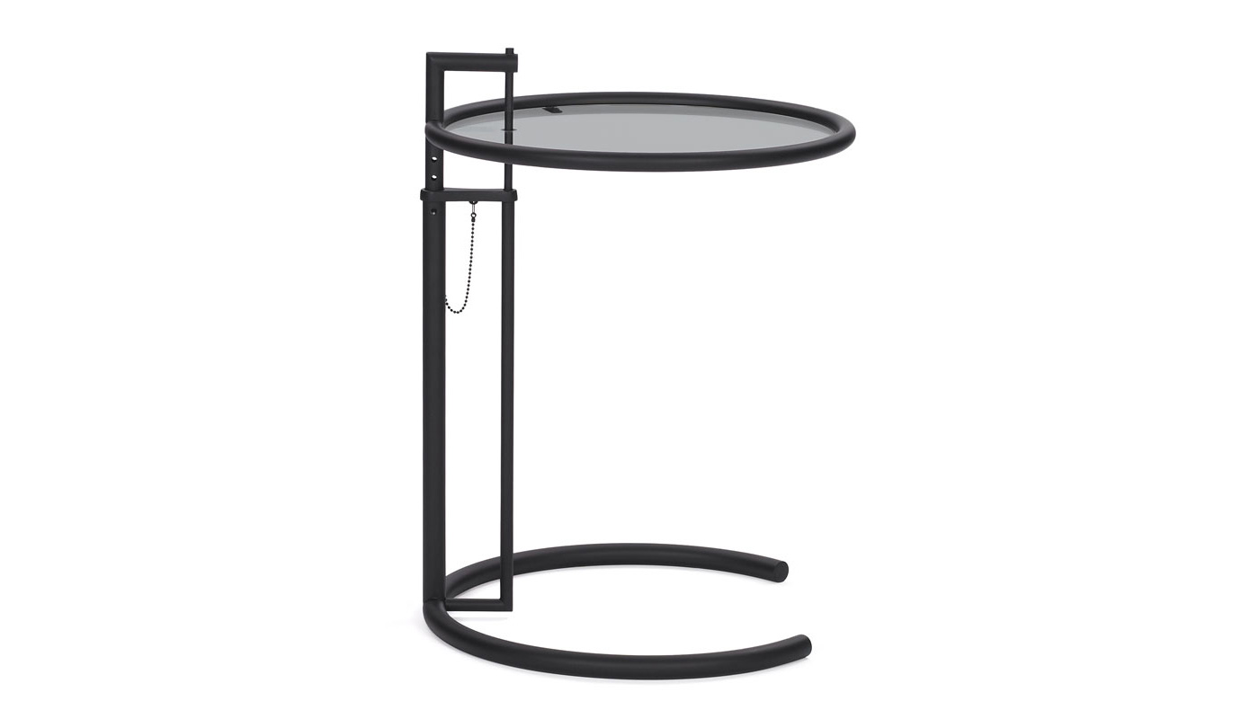 Adjustable Table E 1027 - Black