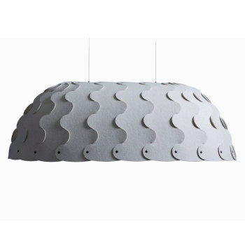 Hush Oval Suspension Light