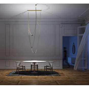 ChainDelier Suspension Light