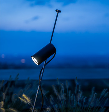 Grillo Outdoor Floor Lamp