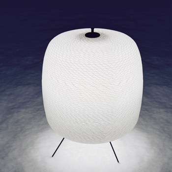 Shoji Outdoor Floor Lamp