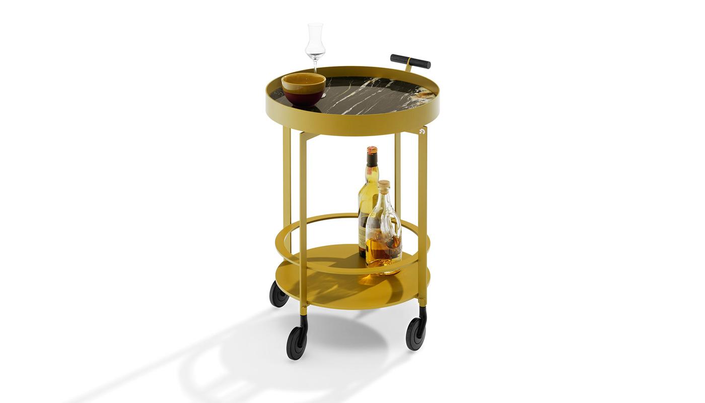 Day Bar Cart