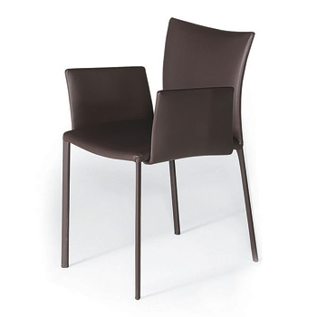 Nobile Soft Dining Chair with Arms