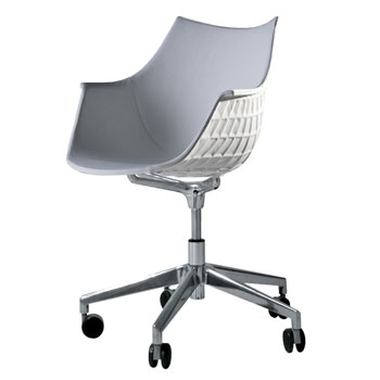 Meridiana Leather Desk Chair