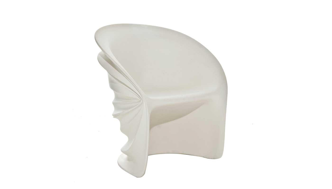 Modesty Veiled Chair - Quickship
