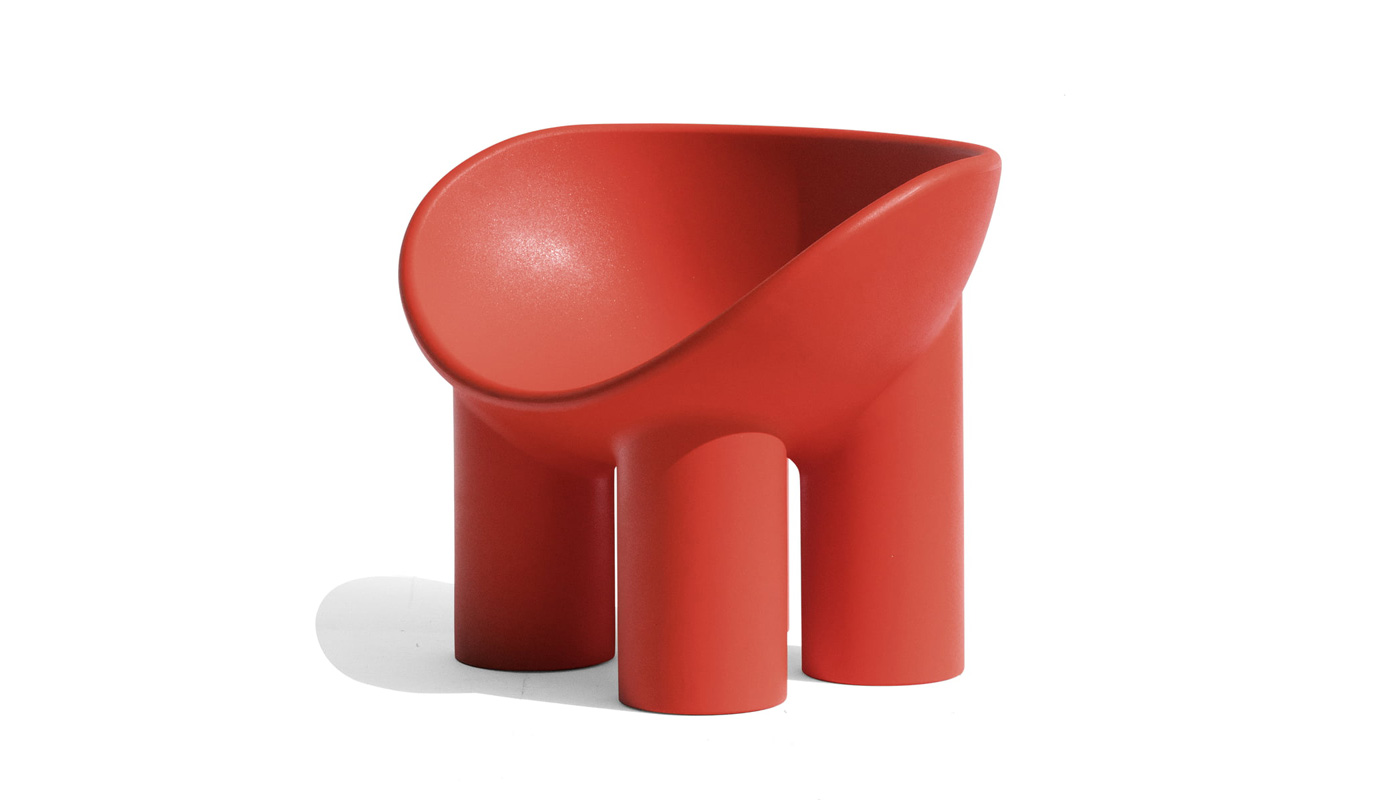 Roly Poly Lounge Chair - Quickship
