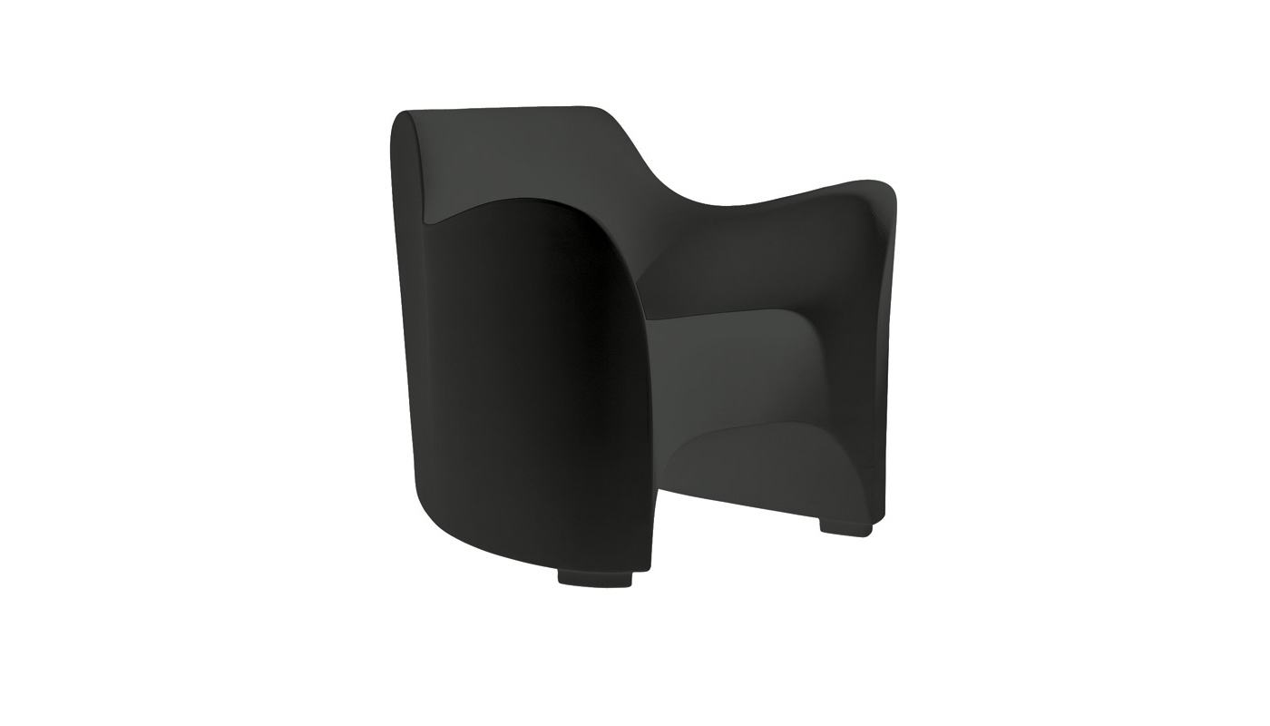 Tokyo-Pop Lounge Chair - Quickship