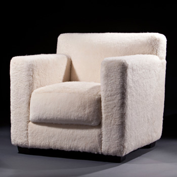 Fauteuil Dossier Droit 1932 Lounge Chair - In Our Showroom