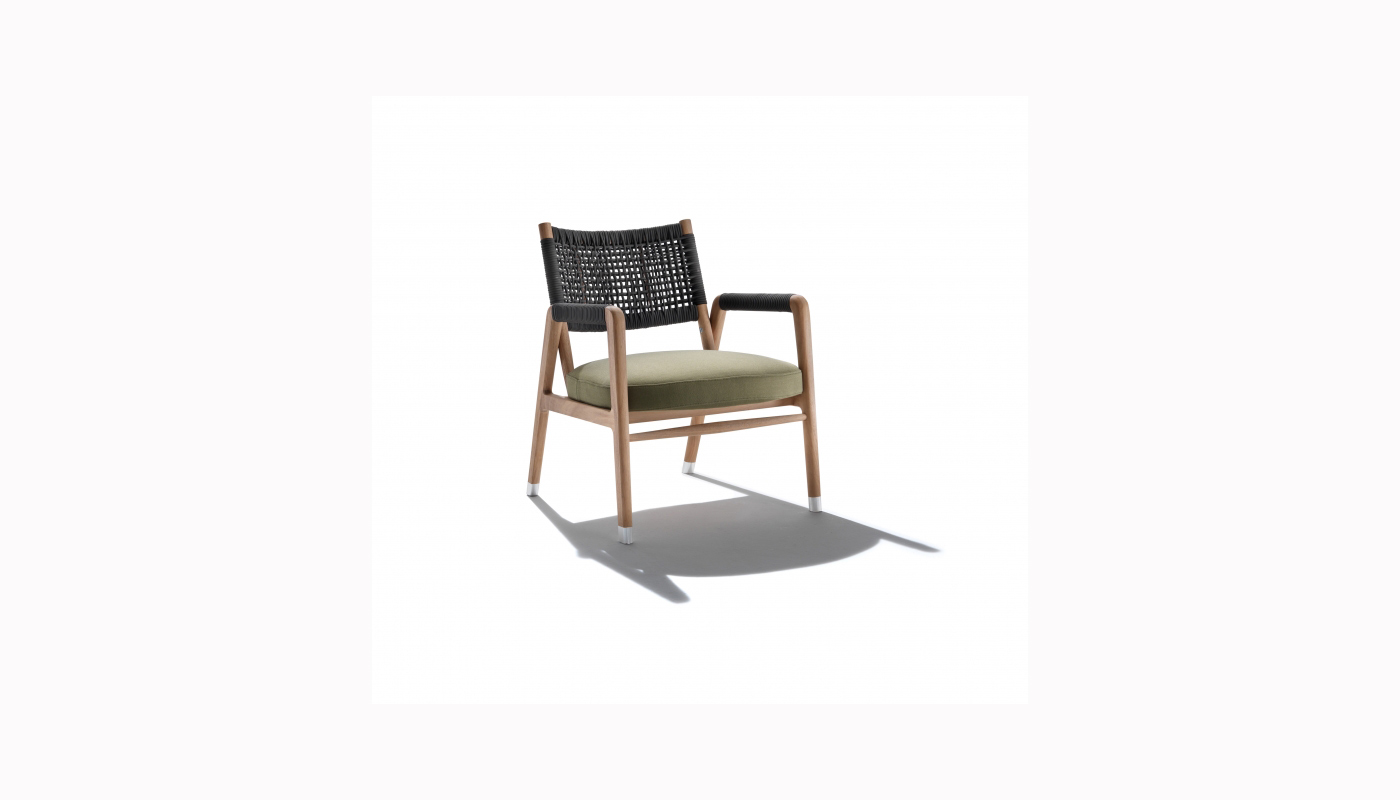 Ortigia Outdoor Lounge Chair - Small
