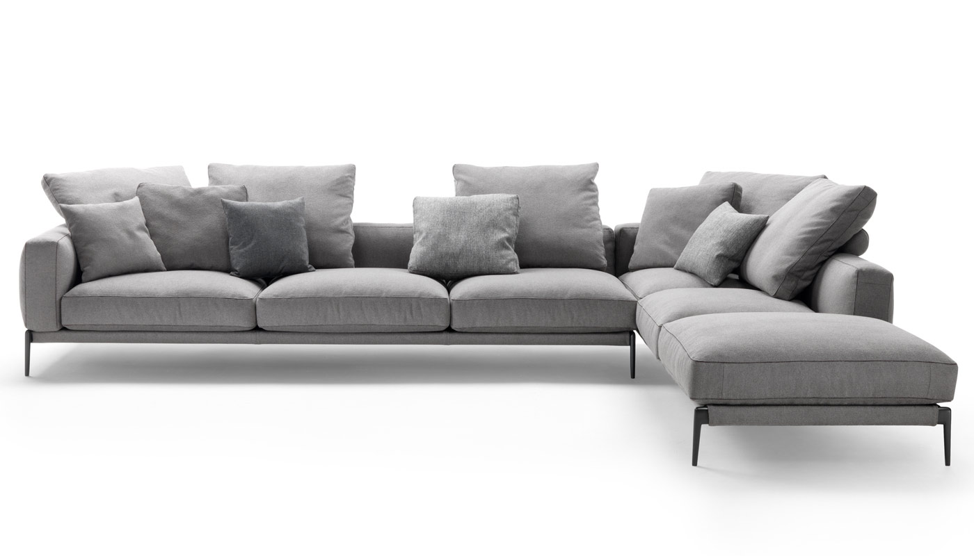 Outstanding Romeo Sectional Sofa By Flexform Switch Modern Gamerscity Chair Design For Home Gamerscityorg