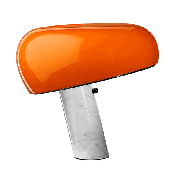 Snoopy Table Lamp - Orange