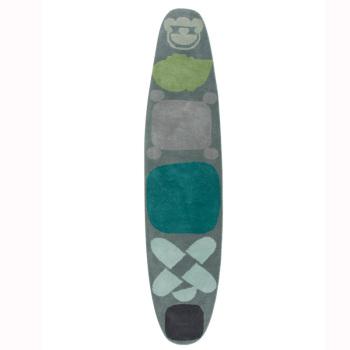 Surf Race Indigo Blue Rug